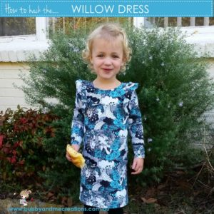 How to hack the Willow Dress PDF Pattern