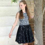 Pippa Dress circle skirt