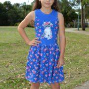 Kitty floral Poppy dress
